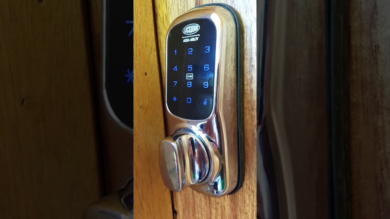 How To Use The Front Door With The Lockwood 001 Touch Digital Entry