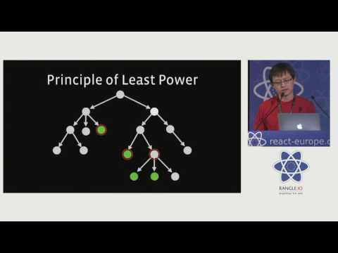 Cheng Lou - On the Spectrum of Abstraction at react-europe 2016