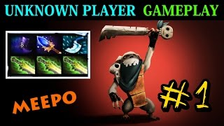 unknown player gameplay 1 meepo