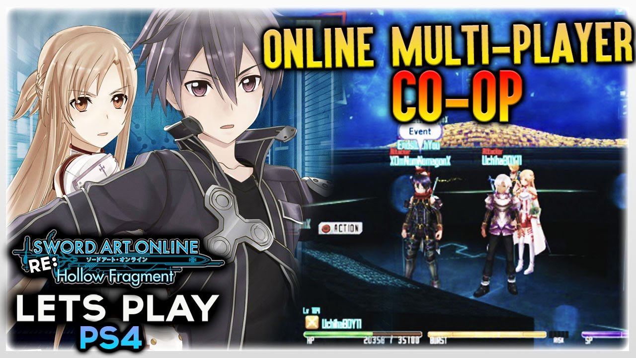 Sword art online re hollow fragment ps4 online for Couch coop ps4