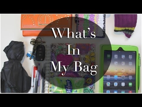 What\u0026#39;s In My Bag || eBay Celine Bag Dupe - YouTube