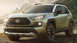 Новый Тойота РАВ 4 2018: цена, фото, характеристики, видео RAV4