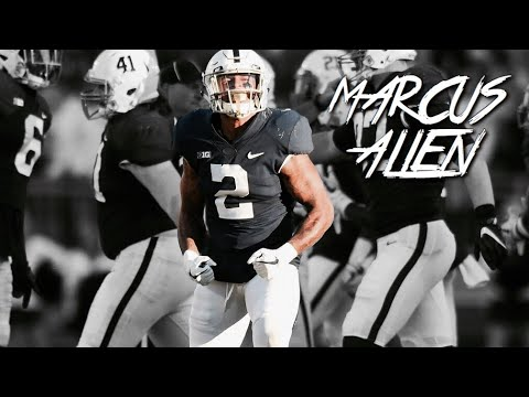 HIGHLIGHT: Marcus Allen puts Big Hit on Indiana RB || 09/30/17