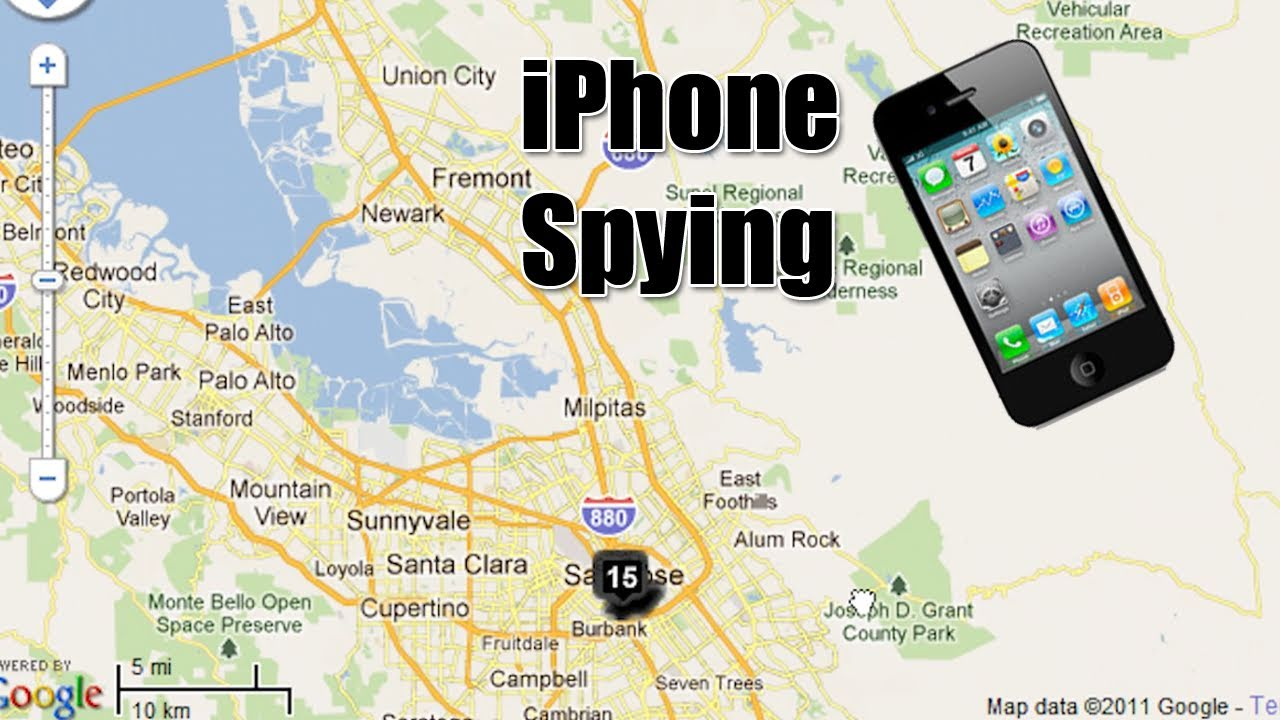 iphone 5 spy on you
