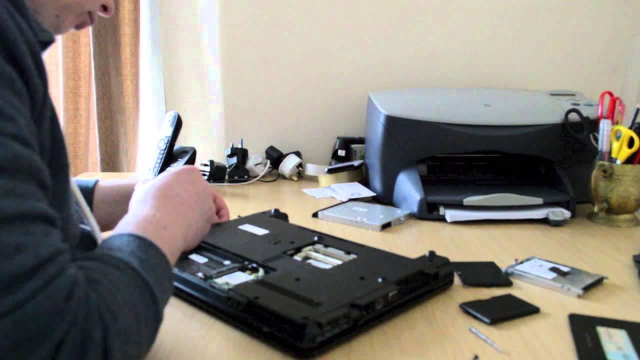 how to clean up a hp laptop