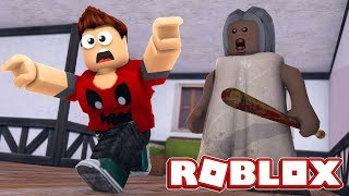 ROBLOX: Le GRANNY CAME AFTER ME! P3DRU