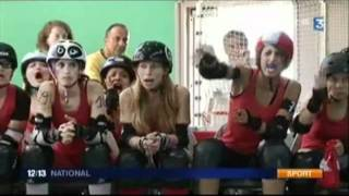 Reportage Roller Derby @Toulouse pendant l