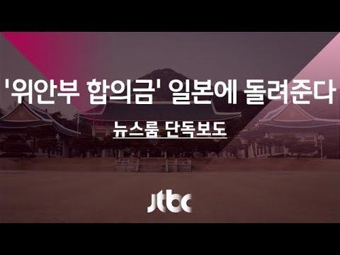 【慰安婦合意】「韓国大統領府が10億円を日本に返還する方針を固めたことが確認された」韓国JTBCテレビが報道