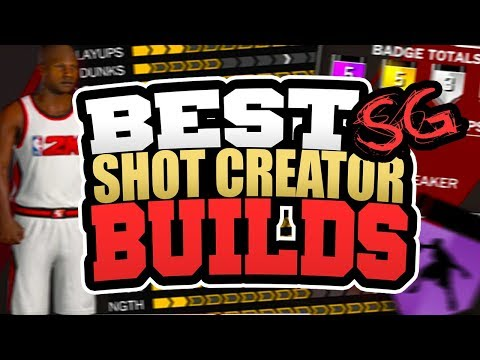 CREATING THE MOST OVERPOWERED BUILD IN NBA2K18!! BEST SHOTCREATOR SHOOTING GUARD BUILDS in NBA 2K18!