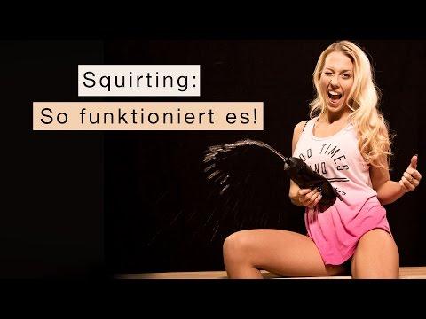 Squirting bei Frauen: So kannst du auch abspritzen!