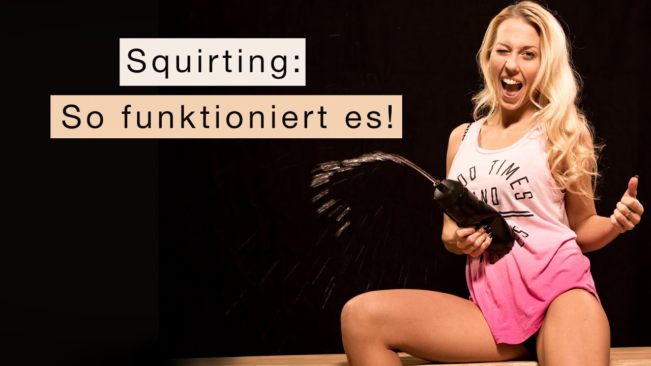 squirting wie