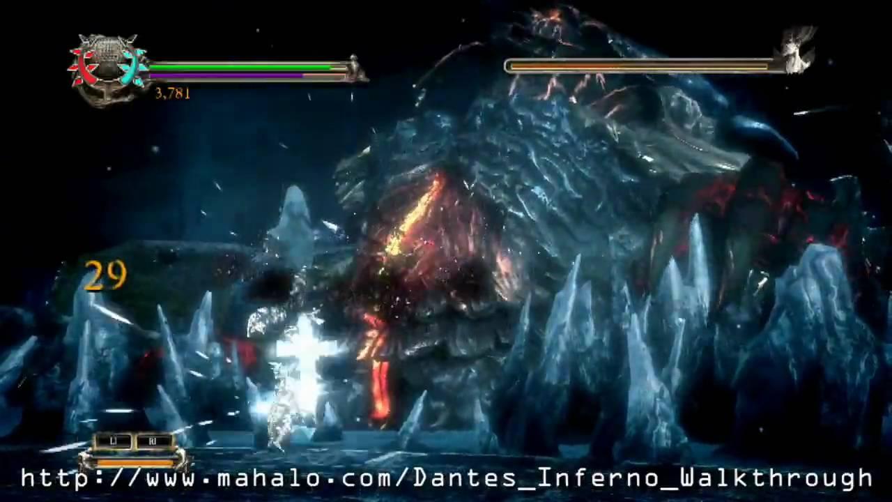 Dante S Inferno Walkthrough Chapter 10 Lucifer Boss Fight Part 1