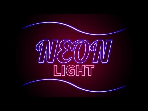 Neon Light Effect Photoshop | Glow Effect In Photoshop