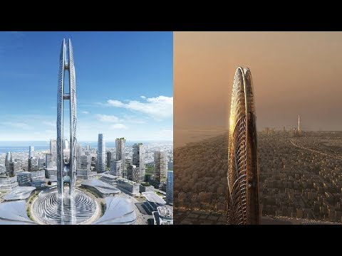 Dubai's Burj Jumeirah : UAE New 550-Metre-Tall Skyscraper To