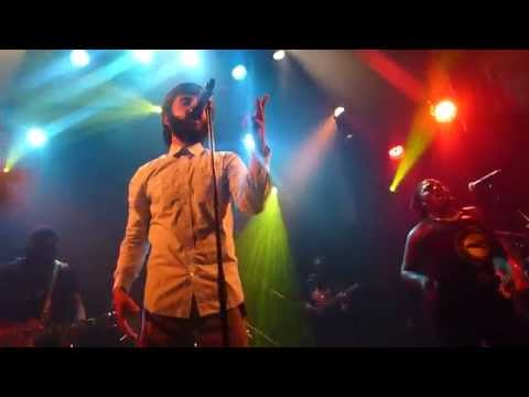 Answer to your name - Protoje & The Indiggnation @ le Divan du monde 14 Mai 2015