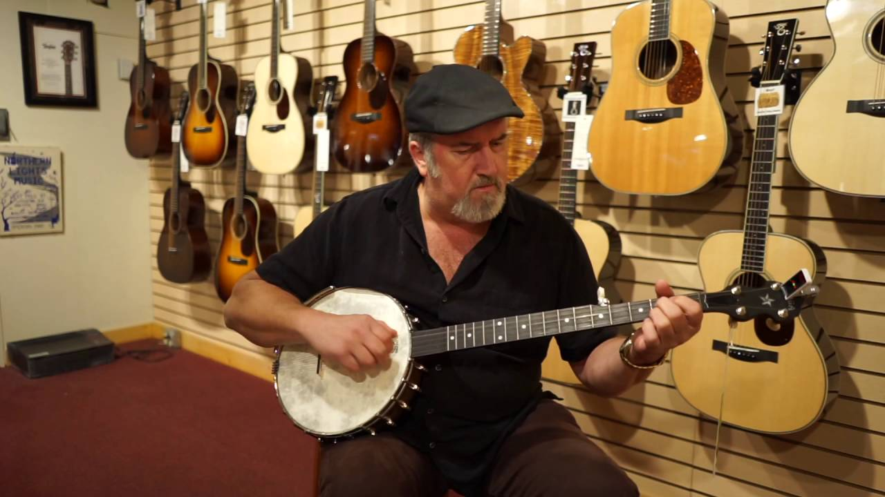 Rik Barron plays the Vega Olde Tyme Wonder 01141215U936