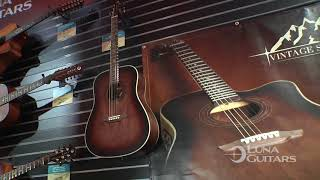 NAMM 2018 Vintage Series by Luna Guitars