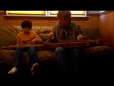Father & Son- First Dulcimer Duet