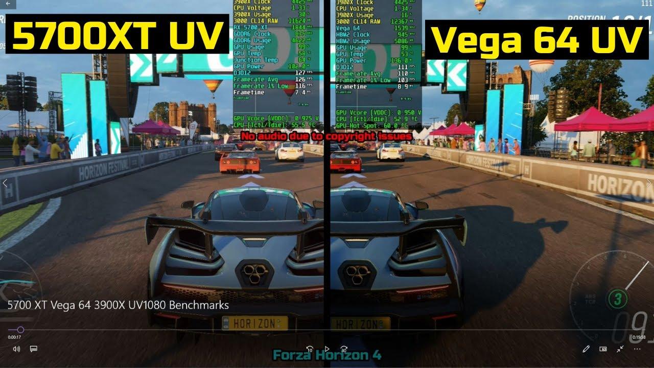 Vega 64 vs 5700 xt