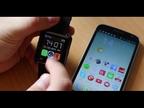 Обзор Смарт-часов U Watch для Android смартфонов. Посылка с TinyDeal