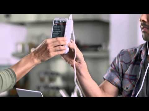 Samsung Galaxy Note II - Music Hub
