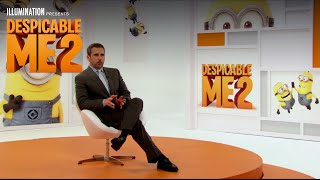 Despicable Me 2 - Steve Carell Explains 3D Animation