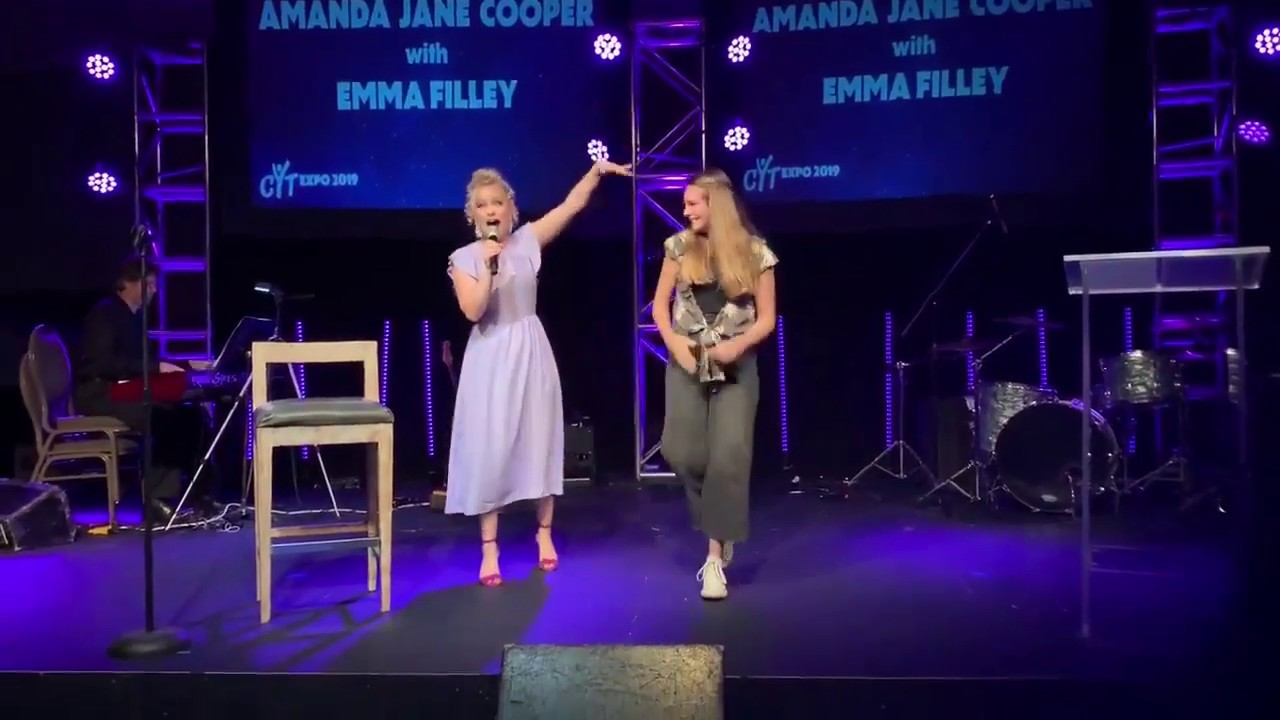 Amanda Jane Alexander emma filley and amanda jane cooper- for good from wicked