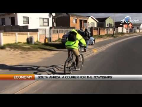 South Africa: A courier  for the townships