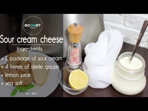 Sour Cream CHEESE - Quick And Easy Recipe!