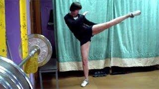 Круговой удар ногой. Тайский бокс, урок 11