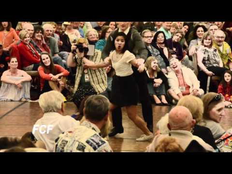 SAC JAZZ 2011 Swing Dance Contest Finals -- the audience goes wild !!