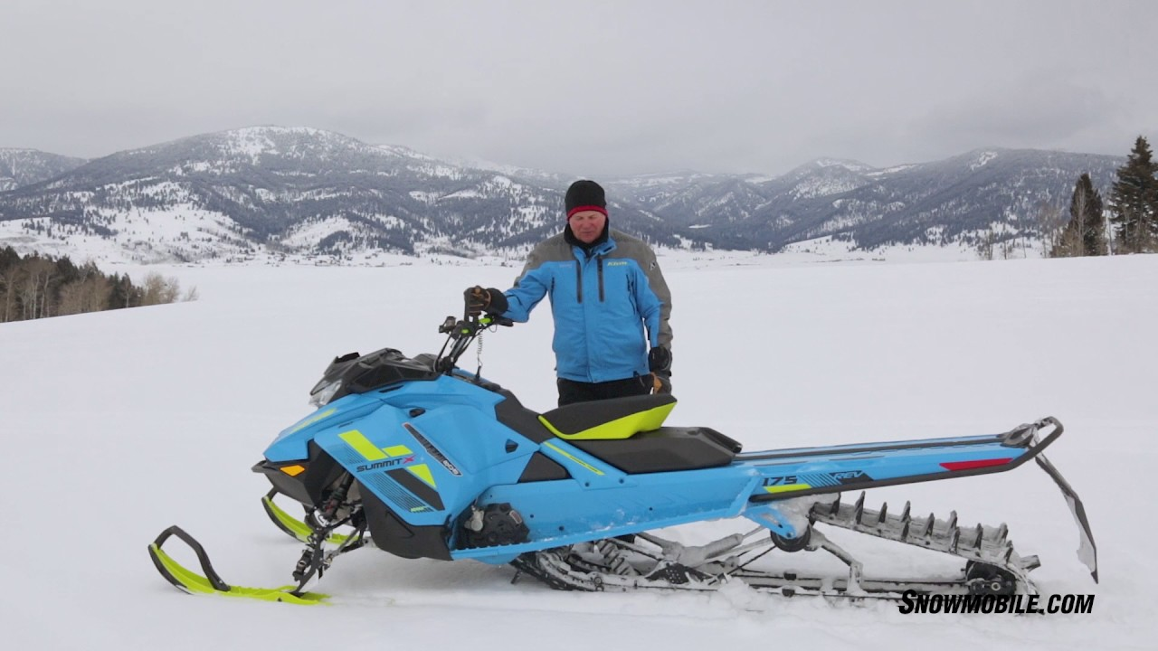 PDU snowmobile: review, specifications and reviews 100