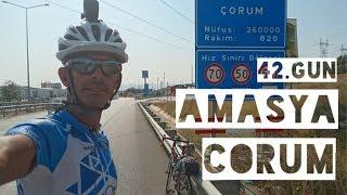42'inci gün Amasya - Çorum (42/80)