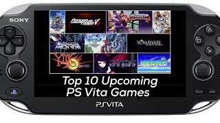 Top 10 Upcoming PS Vita Games Post E3 2017