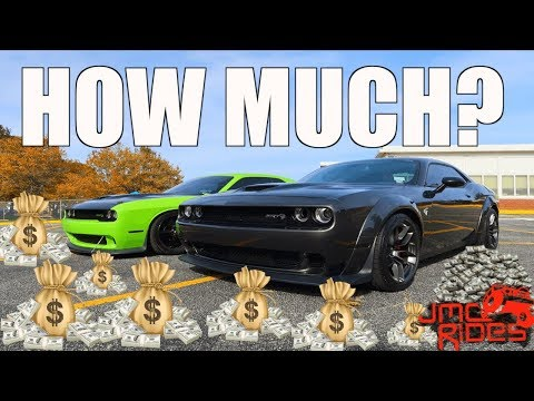 How Much Are The Monthly Payments & TOTAL COST Of MY 2018 WIDEBODY HELLCAT CHALLENGER ?