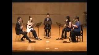 くにくら 第2回コンサート クラリネット5重奏.
