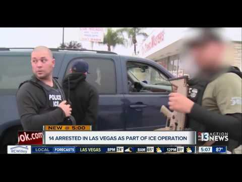 Immigration and Customs Enforcement arrest 61 in Nevada