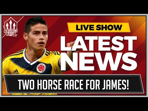 James RODRIGUEZ To MAN UTD! PLUS One Other SUPERSTAR Transfer