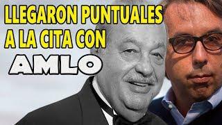 López Obrador llegó a buenos acuerdos con Emilio Azcárraga, Larrea y Slim
