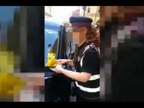 Cheeky Traffic warden GOT TOLD ... Motorist nightmare .. MR BLOGGS CABBIE CAB UBER VLOGS UK