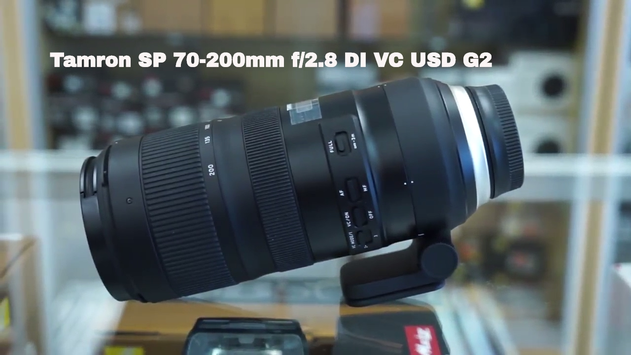 tamron sp 70 200 f 2 8 di vc usd g2 unboxing and first look youtube. Black Bedroom Furniture Sets. Home Design Ideas