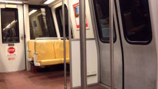 On Board: Washington Metro Breda # 3024 on Orange Line