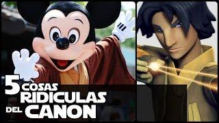 Star wars 5 Cosas Ridiculas Del Canon