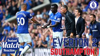 Download Video EVERTON 2-1 SOUTHAMPTON | SILVA GETS FIRST WIN FOR EVERTON | MATCH REACTION MP3 3GP MP4
