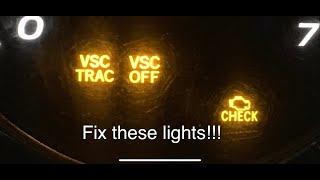 Check Engine Light VSC TRAC Fix For Lexus GX470 GX 470 Easy Fix Repair