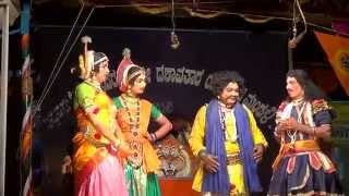 Yakshagana Tulu -- Banatha bangar - perla - Sundara bangady hasya - 1