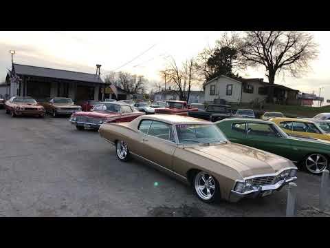 Classic Muscle Car Lot Hotrods Maple Motors Full Walk