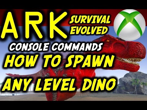 Download Ark Spawn Any Level Tamed Dino Quickly All Summon