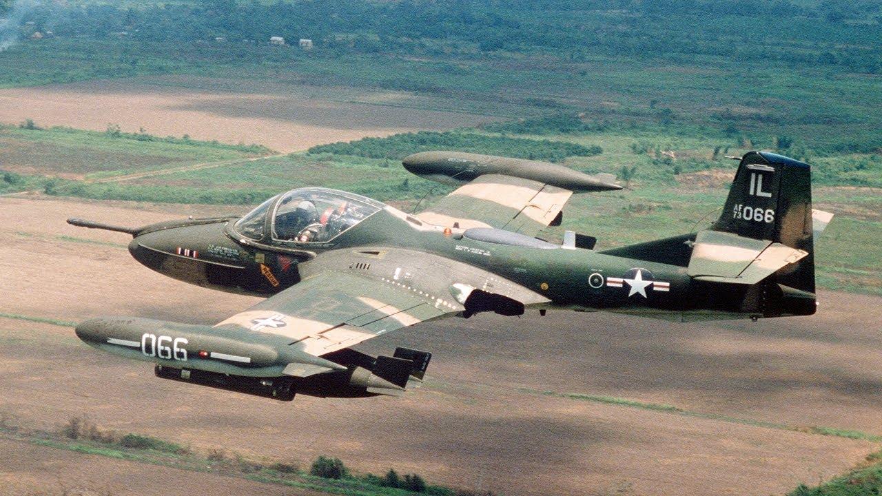 A-37 Super Tweet - Cessna with a 3,000 Rounds per Minute Minigun - Vietnam War Legend