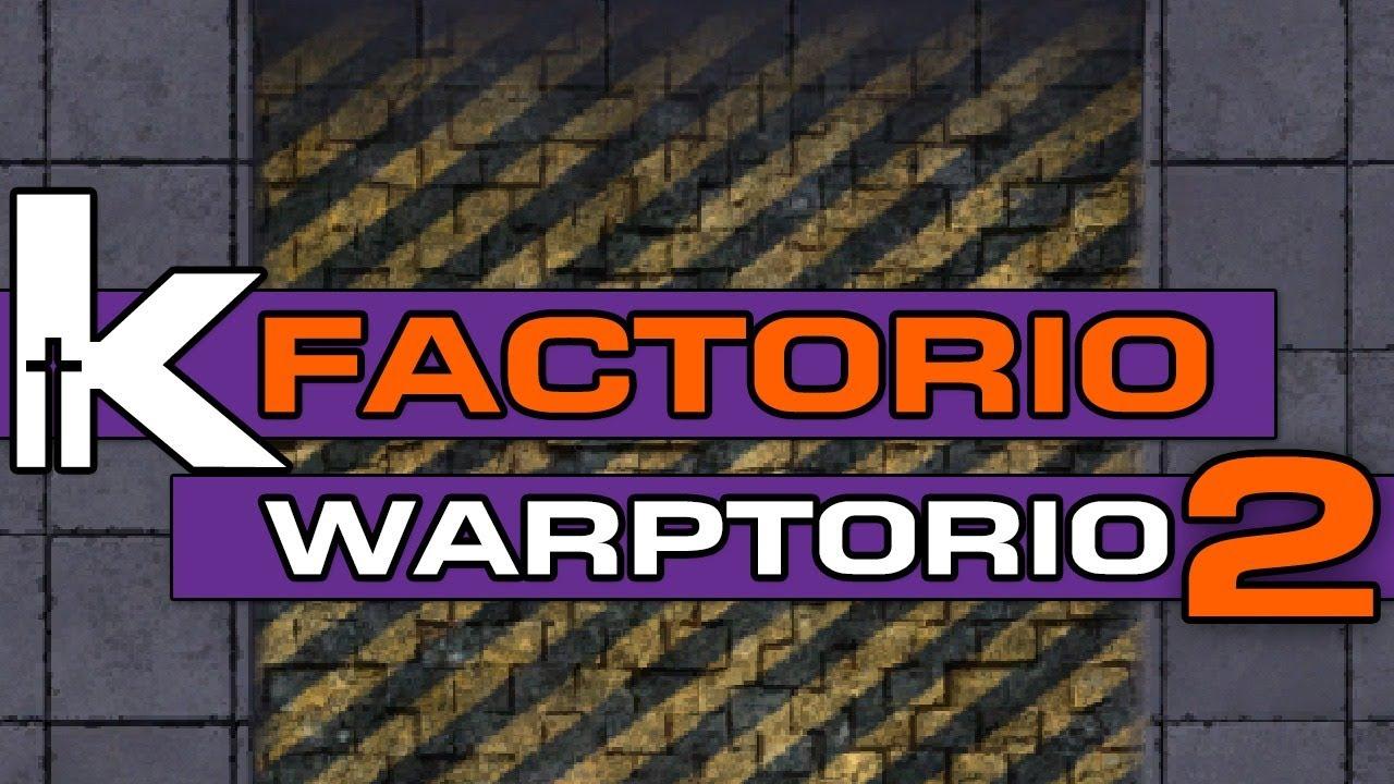 Factorio Friday Livestream Warptorio 2 Youtube
